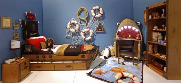 Cilek Black Pirate Kinderzimmer Set 5-teilig