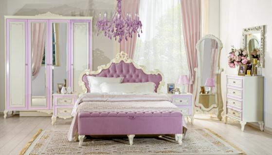 Barock Schlafzimmer Set Sofie 8-teilig