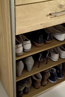 Schuhschrank Meja mit 3 Türen Asteiche Bianco massiv - Vorschau 2