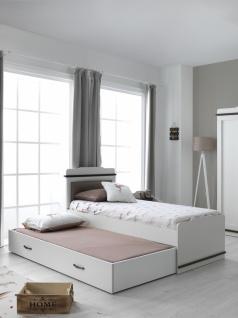 Jugendbett Morpheus 120x200 in Weiß