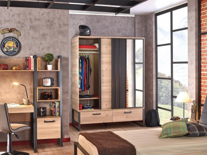 Design Jugendzimmer komplett Irony 8-teilig - Vorschau 2