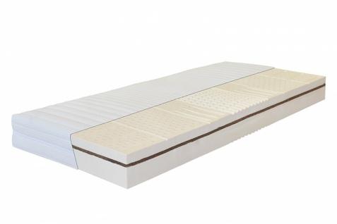 Latexmatratze 7-Zonen Sensitivo Plus 18 100 x 190 cm