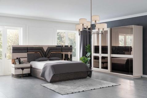 Lidya Schlafzimmer Set Collvan 5-teilig 180x200 cm