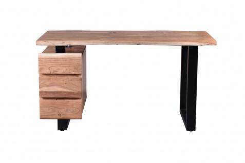 Sit Schreibtisch aus Massivholz Akazie Albero
