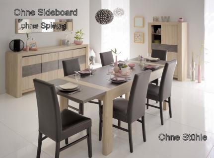 Parisot Chris Esstisch Set mit Tischverlängerung 4-teilig