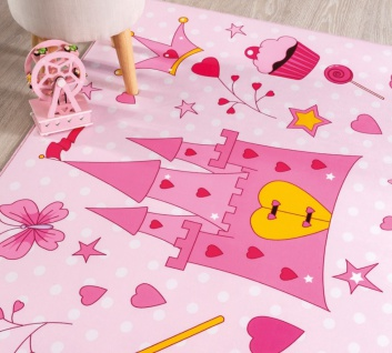 Cilek Kinderteppich Soft Princess 100x150