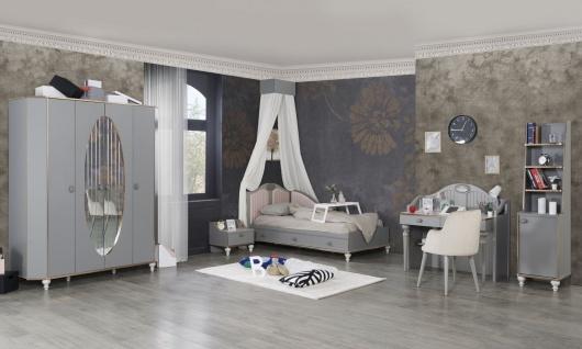 Titi Kinderzimmer Gloria komplett 5-teilig Grau Kupfer
