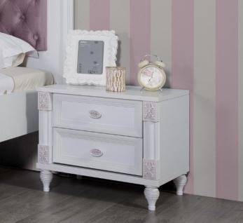 Kinderzimmer Weiß Goldi in romantischem Design 5-teilig - Vorschau 3