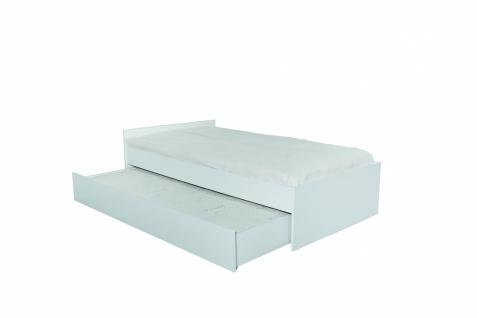 Titi Kinderbett Goldi mit ausziehbarem Bett 100x200 cm