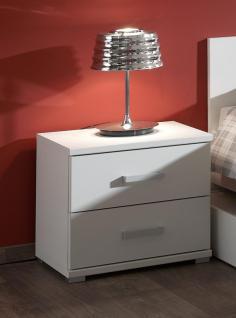 Nachtkommode Pinja in Weiß