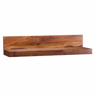 Massivholz Wandregal 80 cm Sheesham