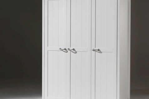 Kleiderschrank Iny 3-türig in Weiß