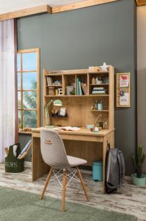 Cilek Mocha Schreibtisch mit Schreibtischaufsatz