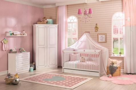 Cilek Selena Babyzimmer komplett in Weiß 5-teilig - Vorschau 1