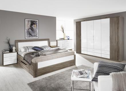 Komplett-Schlafzimmer ARONA (4-teilig) versch. Bettgrößen