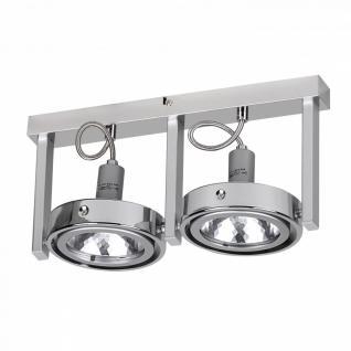 Spot-Lampe 2-flammig Deckenleuchte Strahler Spotsystem G9 52W (EEK: C)