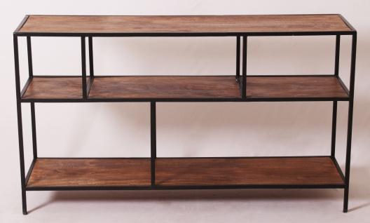 Metallregal Sideboard mit Holzböden Pontem