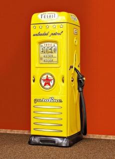 Tankstellen Kleiderschrank in Gelb mit Schreibtisch