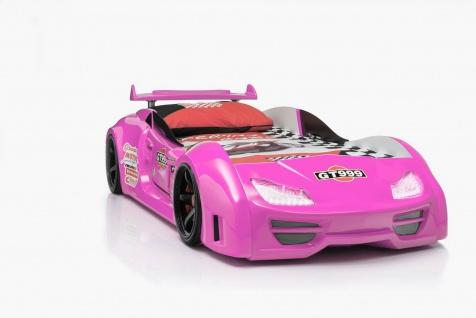 Autobett GT 999 mit Sound + Fernbedienung pink
