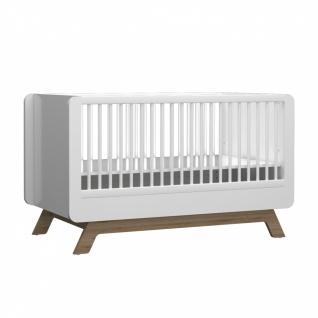Almila Babybett Baby Cute in Weiß 70x130