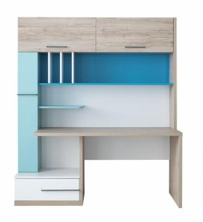 Schreibtisch mit Fächern und Schublade Born Blue