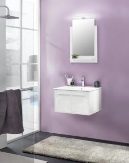 Badezimmer Set Jena 2-teilig in Weiß