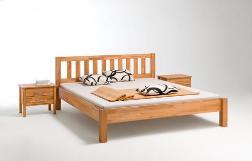 Massivholz-Bett Beno Kernbuche geölt