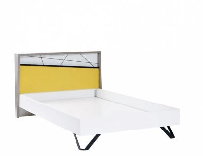 Design Jugendbett mehrfarbig Vector 120x200