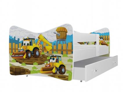 Kinderbett Timmy Farm mit Bettkasten 70x140