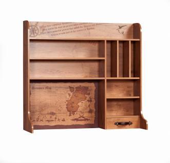 Cilek Black Pirate Schreibtischaufsatz mit Schublade