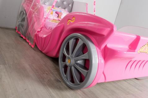 Kinderzimmer Set Kutschenbett in Pink Laila 3-teilig - Vorschau 3