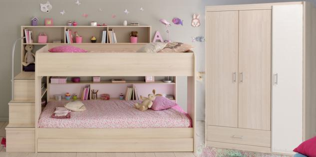 etagenbett f r 3 g nstig sicher kaufen bei yatego. Black Bedroom Furniture Sets. Home Design Ideas