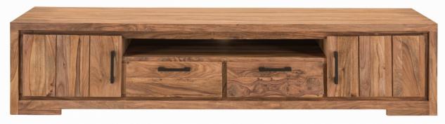 TV Lowboard aus indischem Holz Sanam - Vorschau 1