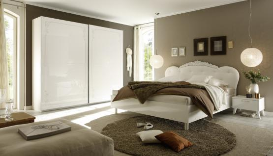 Schlafzimmer-Set Casa Weiß 4 teilig