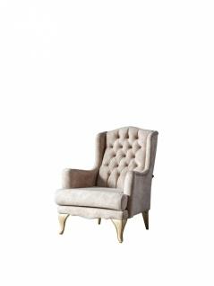 Sofa Set Balat 3-teilig mit Ohrensessel und Schlafsofa - Vorschau 2