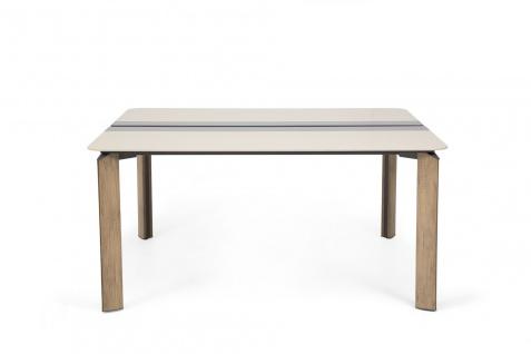 Ovali doppelter Schreibtisch Twist 2P 140x145x75 cm
