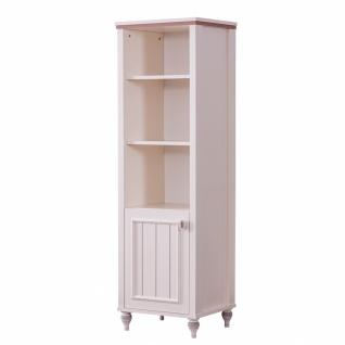Odacix Bücherregal Ezgi mit Tür in Cremefarben Rosa