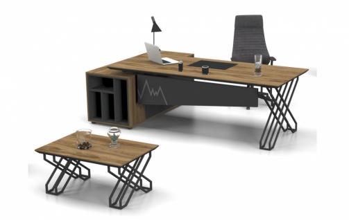 Büroschreibtisch Ritim in L-Form mit viel Stauraum