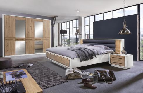 Schlafzimmerset Joel 4-teilig Eiche-Weiß