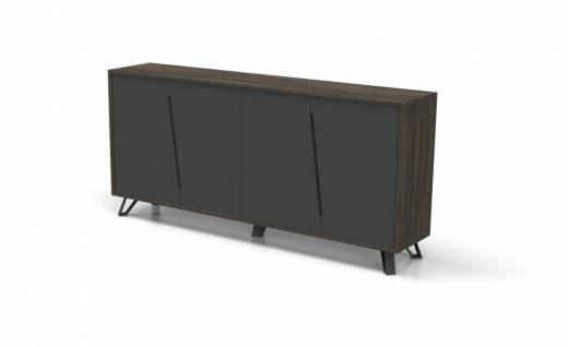 Design Büro Sideboard Cross 4-türig
