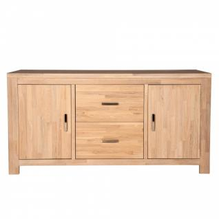 Sideboard Scott Eiche massiv white wash