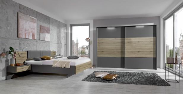 Schlafzimmer Arizia 4-teilig in Havanna-Dekor