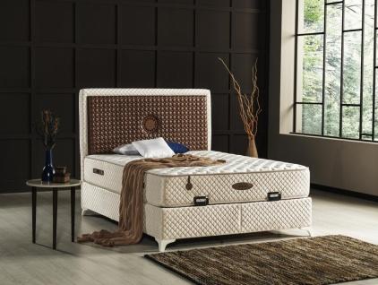 Schlafzimmerbett Mit Matratze Lucante 180x200 Kaufen Bei Mobel Lux