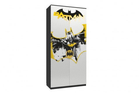Kinderzimmer Set mit Autobett Batman 8-teilig - Vorschau 3