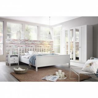 Komplett-Schlafzimmer MARIT III (4-teilig) 140er Bett / 136er Schrank