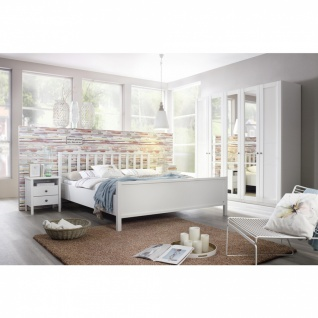 Komplett-Schlafzimmer MARIT III (4-teilig) 160er Bett / 225er Schrank