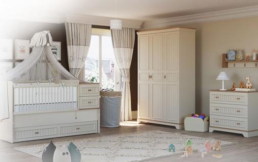 Almila Babyzimmer Set mitwachsend Monte 4-teilig - Vorschau 1