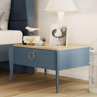 Jugendzimmer komplett Elegant Blue 7-teilig - Vorschau 3