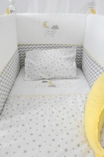 Almila Baby Bettwäsche Set Lory 7-teilig in Weiß