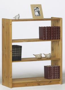 Bücherregal in Kiefer Geölt Romana drei Fächer